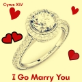 Cyrus XLV - I Go Marry You