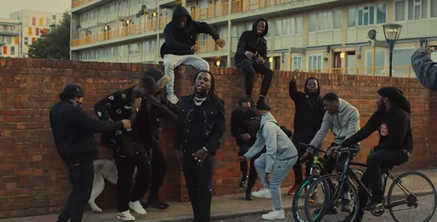 "WATCH BURNABOY AND STORMZY IN THE VIDEO FOR ""REAL LIFE"""