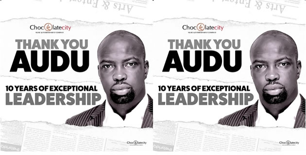 "<h3>M.I Is The New Chocolate City CEO; Ice Prince is Vice-President #ThankYouAudu</h3><br />As many predicted when Audu Maikori announced his resignation as Chocolate City CEO back in April, we now have official confirmation: Jude ""M.I"" Abaga is the new C.E.O of Chocolate City Music, with Pa"
