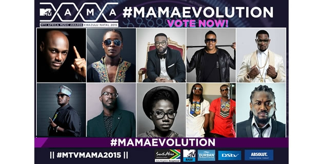 "&lt;h3&gt;D'banj, P-Square, 2face, Asa, Fally Ipupa Nominated For #MTVMAMA2015 ""Evolution"" Award 