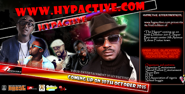 <h3>Hypactive Entertainment presents THE HYPER.</h3><br />Bringing you the best of Entertainment from HYpactive Entertainment, www.hypactive.com presents its first edition of