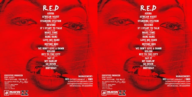 "<h3>Tiwa Savage – ""R.E.D"" 