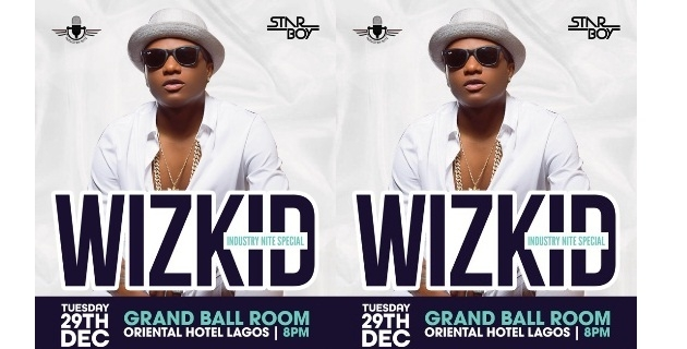 <h3>Wizkid to headline Industry Nite Special December Concert</h3><br />In a bid to wind down the year 2015 in grand style, weekly entertainment event – Industry Nite is putting together the biggest concert ever witnessed in Nigeria. It's the Industry Nite December Specia