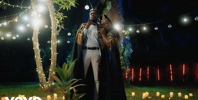 'Mon Bebe' video from Patoranking and Flavour, starring Yemi Alade