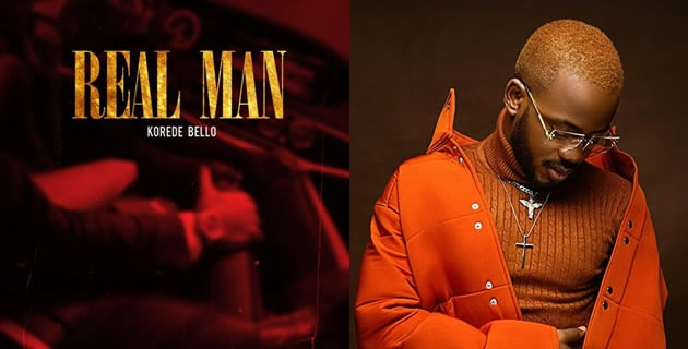 Korede Bello starts 2021 with 'Real Man'.